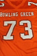 Bowling Green University Game Used Football Jersey Size 48 #73