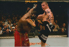Michael BISPING Signed 12x8 Autograph Photo AFTAL COA Cage Fighter MMA