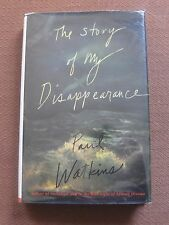 SIGNED - THE STORY OF MY DISAPPEARANCE by Paul Watkins -1st 1998 HCDJ
