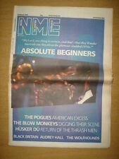 NME 1986 MAR 22 ABSOLUTE BEGINNERS POGUES HUSKER DU