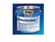 Zero Maschinenlack 2,5 Liter seidenmatt weiss - schnelle Trocknung 780209010 -