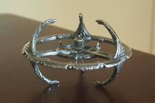 STAR TREK DS9 DEEP SPACE NINE SPACE STATION 1993 VINTAGE STERLING SILVER 16 GRMS