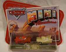 Disney Pixar Cars Mini Adventures Sarges Boot Camp Ramone & Flo NEW 2010