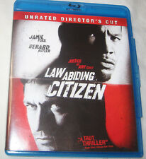 Law Abiding Citizen Blu-ray Disc 2010 2-Disc Set Rated/Unrated Director's Cut