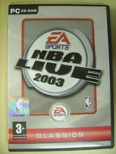 NBA Live 2003 - PC gioco di pallacanestro video game sport basket