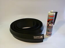 Garage Door Weather Seal Kit. STD Double 5m Length, + Sealant /Adhesive,GaraSeal