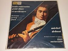 SEALED DEBOST AURIACOMBE 3 CONCERTOS FOR FLUTE & ORCH PATHE/EMI SAXF1044 FRANCE