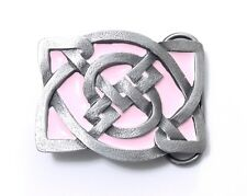 CELTIC KNOT PINK BELT BUCKLE 14044 new dance music heritage belt buckles