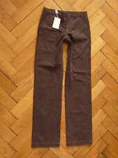 Neu Custom  More by 120% Chino Hose Trousers Pants Cuban Brown Braun Gr. 46 (S)