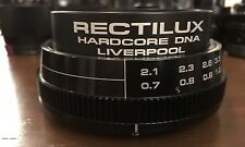 Rectilux HardCore DNA Close-Up Lens Anamorphic Achromatic Variable Diopter Isco