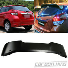 Painted For TOYOTA YARIS 3rd 4D Hatchback Rear T Roof Spoiler ABS 14-16 LE SE
