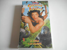 K7 VHS / CASSETTE VIDEO - GEORGE DE LA JUNGLE / LA JUNGLE A SA CALAMITE - DISNEY