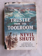 Old Book Trustee From The Toolroom by Nevil Shute 1960 DJ VGC