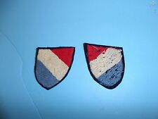 b4589v WW2 German Dutch Volunteer Elite Patch Variation