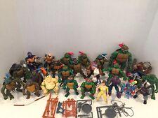 Huge Lot Vintage TMNT Teenage Mutant Ninja Turtles Action Figures 80's 90s 2000s