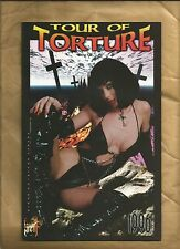 Tour of Torture 1 1996 London Night classic cover Good Girl / Bad Girl US comics