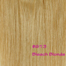 "15/18/20/22/24/26"" Clip In Remy Human Hair Extensions One Piece 5clips Weft N402"