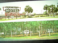 Perry FL Westgate Motel & Mobile Home Park-Travel Trailers Postcard c1970