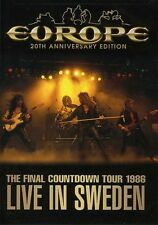Europe: The Final Countdown Tour 1986 - Live in Swed DVD Region 1