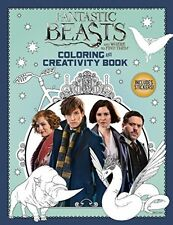 Adult Coloring and Creativity Book Fantastic Beasts and Where to Find Them