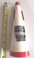 VTG Stone Lined Straight-Mute Humes & Berg Trumpet Cornet Quiet Practice Mute