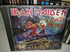 IRON MAIDEN RUN TO THE HILLS THE NUMBER OF THE BEAST RARE CD UK 1990 LIMITED