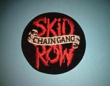 Skid Row Hard Rock Music Iron On Hat Jacket Backpack Hoodie Metal Patch Crest