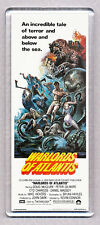 WARLORDS OF ATLANTIS LARGE movie poster 'wide' FRIDGE MAGNET  - CLASSIC !