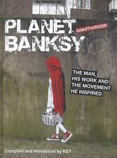 Ket - Planet Banksy (2014) - New - Trade Cloth (Hardcover)