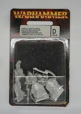 Warhammer Fantasy 6th Edition Metal DARK ELF EXECUTIONERS x3 IN BLISTER PACK