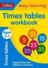 Collins Easy Learning: Collins Easy Learning Age 5-7 - Times Tables Workbook...