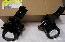 1998-2002 Camaro RS & Z28 Fog Lights Lamps Pair with Bulbs & Brackets OEM GM
