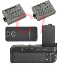 New Vertical Battery Grip for Canon BG-E5 EOS 450D 500D 1000D +2x Battery+Remote