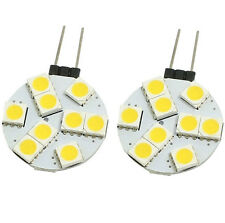 1 x Warm White G4 9 LED 5050 SMD LED Spotlight RV Marine Car Light Bulb Lamp 12V