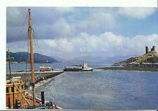 Scotland Postcard - The Ferry and Castle Moil - Kyleakin - Isle of Skye  A8103