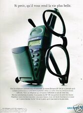 Publicité advertising 1997 Telephone Ericsson GF 788