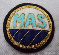 MAS Midland Airport Services Ground Crew Wire Cap Badge