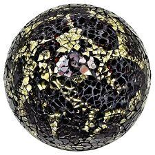 Mosaïque décorative boule en verre or noir écaille de tortue gm65s décoratifs