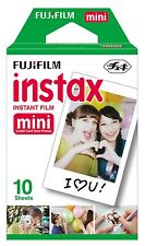 Fujifilm Instax Mini Instant Film Fuji Camera Mini 8 7s 25 SP-1 10Sheets Pack