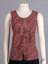 New Anne Klein Women's Ruffle Career Cami Tank Top Sz XS $69