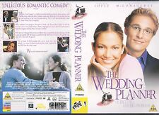 The Wedding Planner, Jennifer Lopez Video Promo Sample Sleeve/Cover #9457