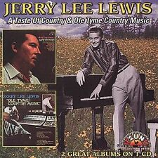 Taste of Country/Ole Tyme Country Music by Jerry Lee Lewis (CD, Mar-2006,...