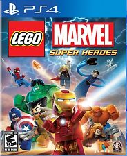PLAYSTATION 4 PS4 GAME LEGO MARVEL SUPER HEROES BRAND NEW & SEALED