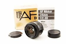 Excellent++ Nikon AF NIKKOR 24mm F2.8 D Wide Angle Fixed/Prime From JAPAN