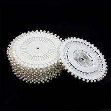 480 x Alfileres con Perla Falsa Broches Pins 36mm para Arreglos Florales Boda