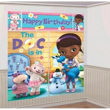 Disney Doc McStuffins Scene Setters Wall Banner Decorating Kit Birthday Party