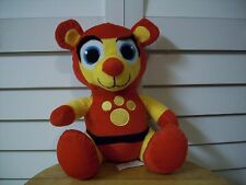 Emerald Toy plush red & yellow Bear
