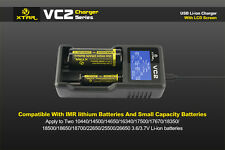 Universal XTAR VC2 LCD Screen Display USB Smart 18650 Li-ion IMR Battery Charger