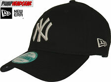 New Era 940 League Basic NY Yankees Negro Ajustable Gorra Béisbol