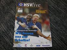 Programm 1999/2000: Hamburger SV - FC Schalke 04